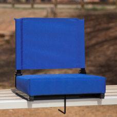 Flash Furniture Grandstand Comfort Seat BlueBlack
