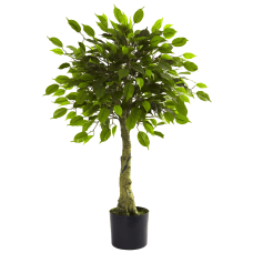 Nearly Natural 3H Polyester Artificial Ficus