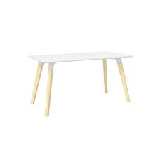 Safco Resi 60 W Desk WhiteNatural