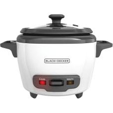 Black Decker 3 Cup Rice Cooker