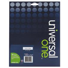 Universal Deluxe Permanent Labels UNV81101 12