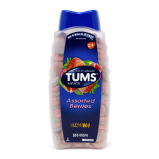TUMS Ultra Strength Chewable Antacid Tablets