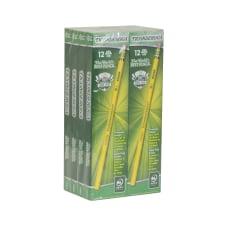 Ticonderoga Woodcase Pencils Presharpened 2 Lead