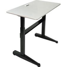 Iceberg Mobile Sit Stand Desk 47