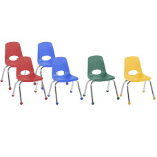 Factory Direct Partners 12 Stacking Chairs