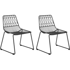 Ace Childrens Wire Activity Chairs Black