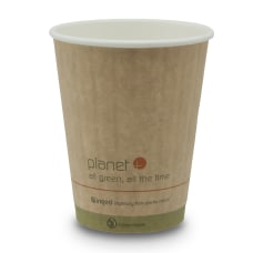 StalkMarket Planet Compostable Hot Cups Double