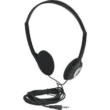 Manhattan Lightweight Stereo Headphones with Cushioned