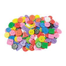 Roylco Bright Buttons Assorted Colors 1
