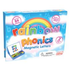 Junior Learning Rainbow Phonics Magnetic Letters