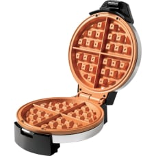 Starfrit Electric Waffle Maker Eco Copper