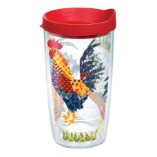 Tervis Patchwork Rooster Tumbler With Lid