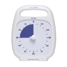 Time Timer 120 Minute Timer White