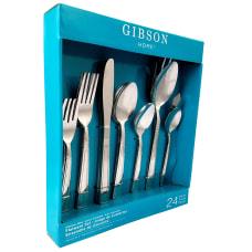 Gibson Home 24 Piece Flatware Set
