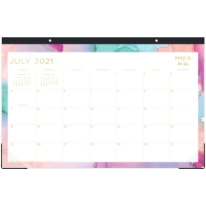 Blue Sky Monthly Desk Pad 11