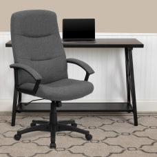 Flash Furniture Fabric High Back Swivel