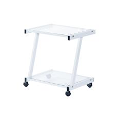 Eurostyle L Series Glass Printer Cart