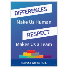 ComplyRight Respect Works Here Diversity Poster