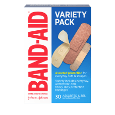 BAND AID Brand Adhesive Bandages Variety