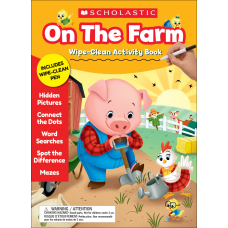 Scholastic On the Farm Wipe Clean
