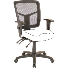 Lorell Ergonomic Mesh Mid Back Office