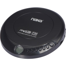 Naxa NPC 320 CD Player Black