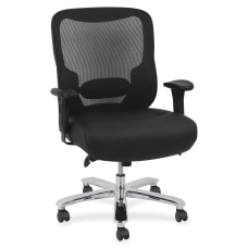 Lorell Big And Tall MeshBonded Leather