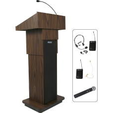 AmpliVox SW505A Wireless Executive Adjustable Column