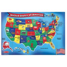 Melissa Doug 51 Piece USA Map