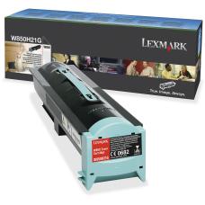 Lexmark W850H21G High Yield Black Toner