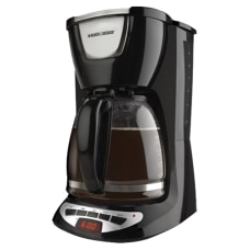 Black Decker 12 Cup Programmable Coffeemaker