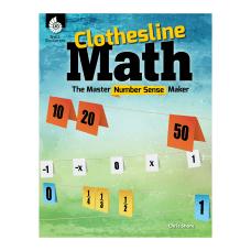 Clothesline Math The Master Number Sense