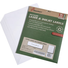 SKILCRAFT Extra Large Color Permanent InkjetLaser