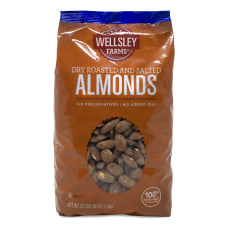 Wellsley Farm Roasted Salted Nuts Almonds