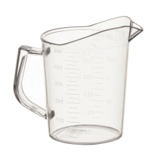 Winco Polycarbonate Measuring Cup 16 Oz