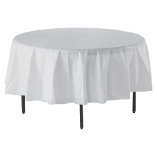 Genuine Joe Plastic Round Table Covers