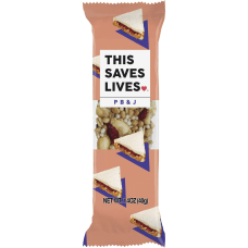 This Bar Saves Lives Peanut Butter