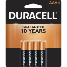Duracell CopperTop Alkaline AAA Batteries For