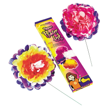 Kolorfast Tissue Paper Flower Kit 10