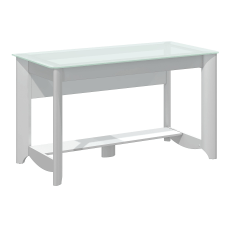 Bush Furniture Aero Writing Desk Pure