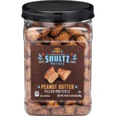 Office Snax Peanut Butter Filled Pretzels