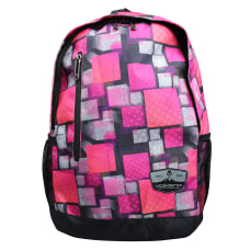 Volkano Two Squared Backpack Pink