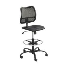 Safco Vue MeshVinyl Chair Black