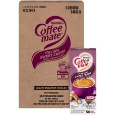 Nestl Coffee mate Liquid Creamer Sweet