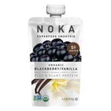 NOKA Single Serve Superfood Smoothies Blackberry