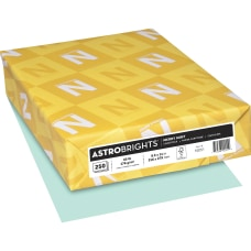 Astrobrights LaserInkjet Printable Multipurpose Card Stock