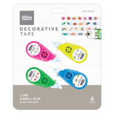 Office Depot Brand Decorative Tape With