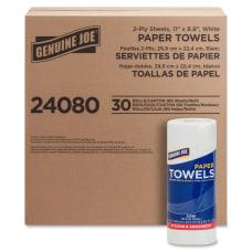 Genuine Joe 2 Ply Household Paper