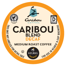 Caribou Coffee Caribou Blend Decaffeinated Coffee