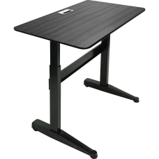 Iceberg Mobile Sit Stand Desk 47